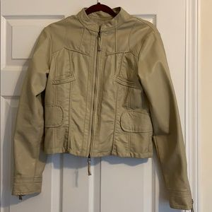 Max Studio Faux Leather Jacket, Size L